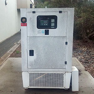three phase backup diesel generator and 15kVA UPS