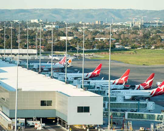 Case study: Adelaide Airport UPS